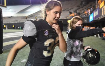 The First Woman to Score in a Major College Football Game